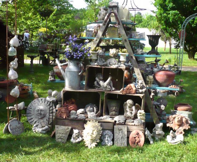 les objets d coratifs pour le jardin peinture deco bougniard